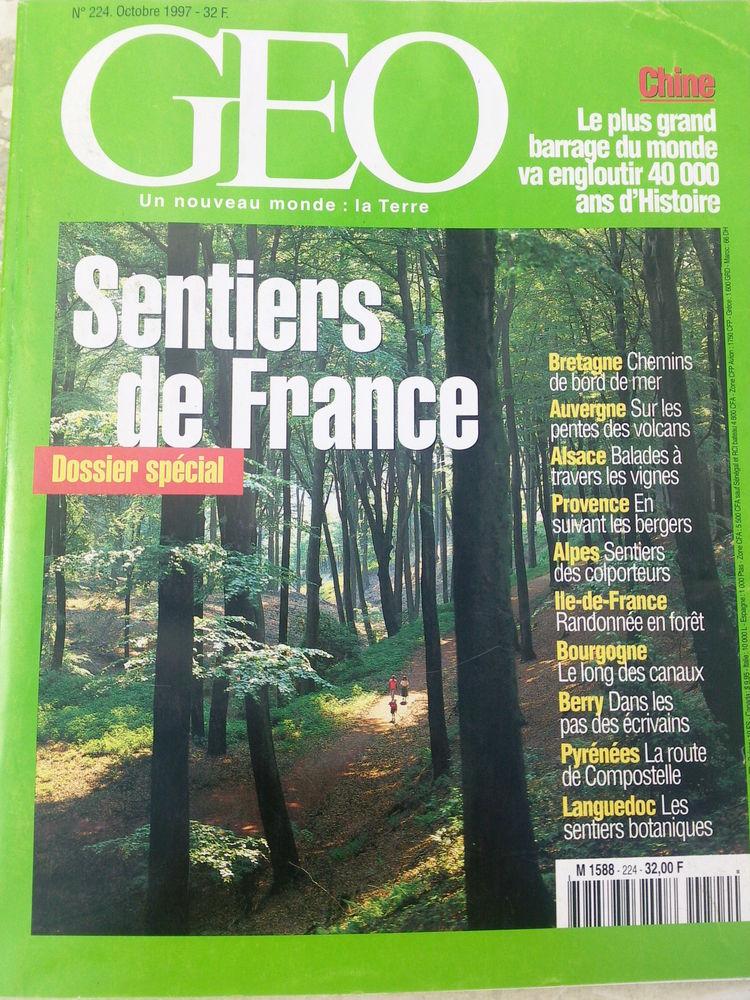 GEO N°224 Octobre 97 Sentiers de France 0 Arros-de-Nay (64)