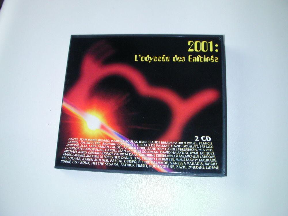 CD L'ODYSSEE DES ENFOIRES - 2001 20 Saint-Etienne (42)