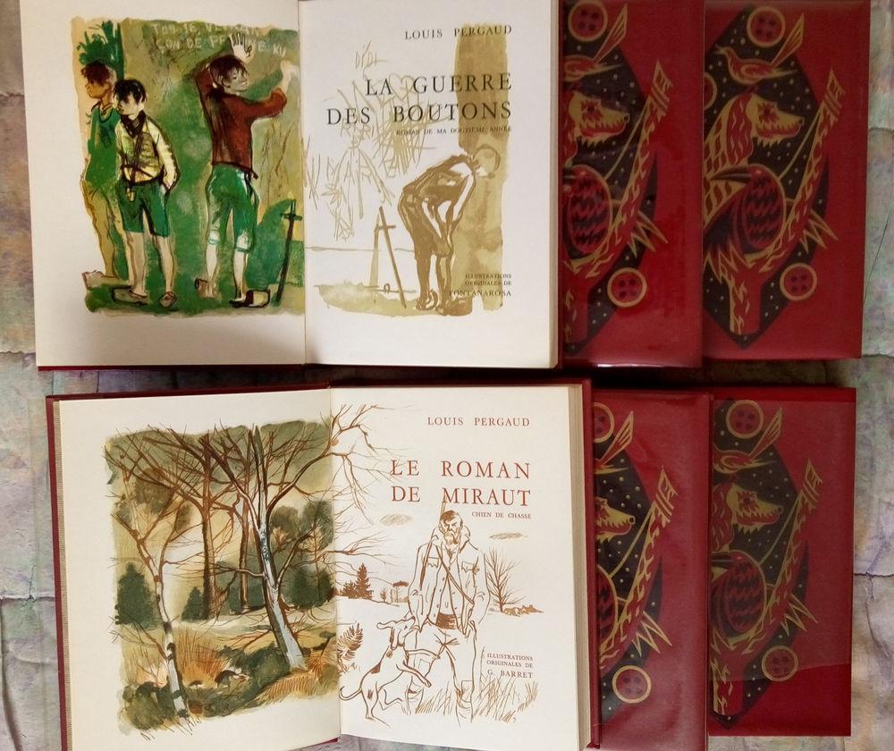 Oeuvres complètes Louis Pergaud (en 6 volume numérotés) 230 Clermont-Ferrand (63)