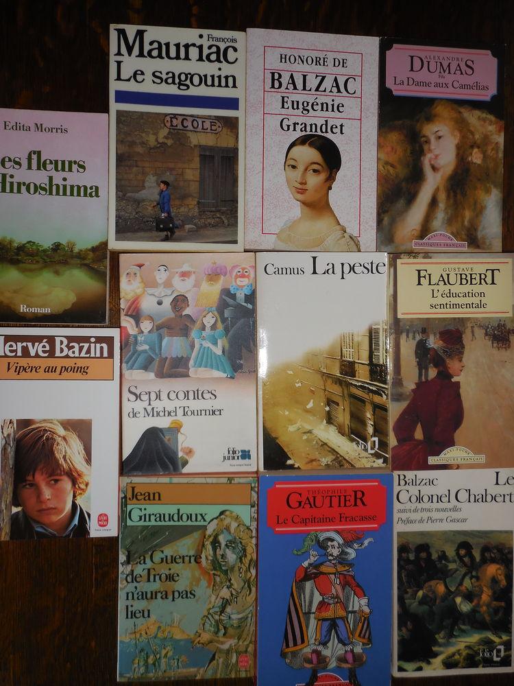 oeuvres littéraires classiques : collège/lycée 1 Calais (62)