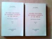 Oeuvres oratoires de Maîtres parisiens, XIIè, Jean LONGERE 80 Saint-Germain-en-Laye (78)