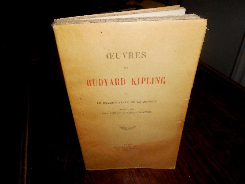 Oeuvres de Rudyard Kipling 1 Le livre de la jungle 30 Monflanquin (47)