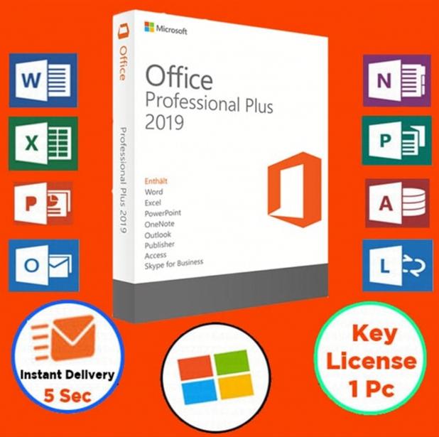 MS Office 2019 Pro Plus License (Key) 13 Paris 1 (75)