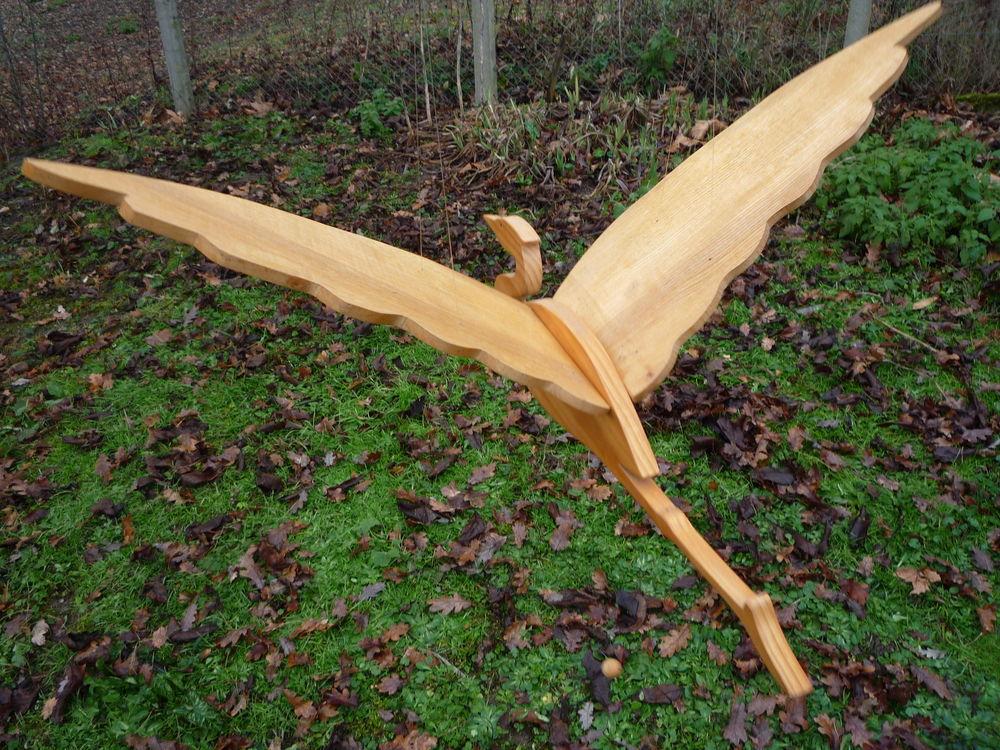 Oiseau mobile bois/oiseau volant/cigogne/mouette 45 Castres (81)