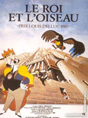 K7 Vhs: Le Roi et l'oiseau (219) 6 Saint-Quentin (02)