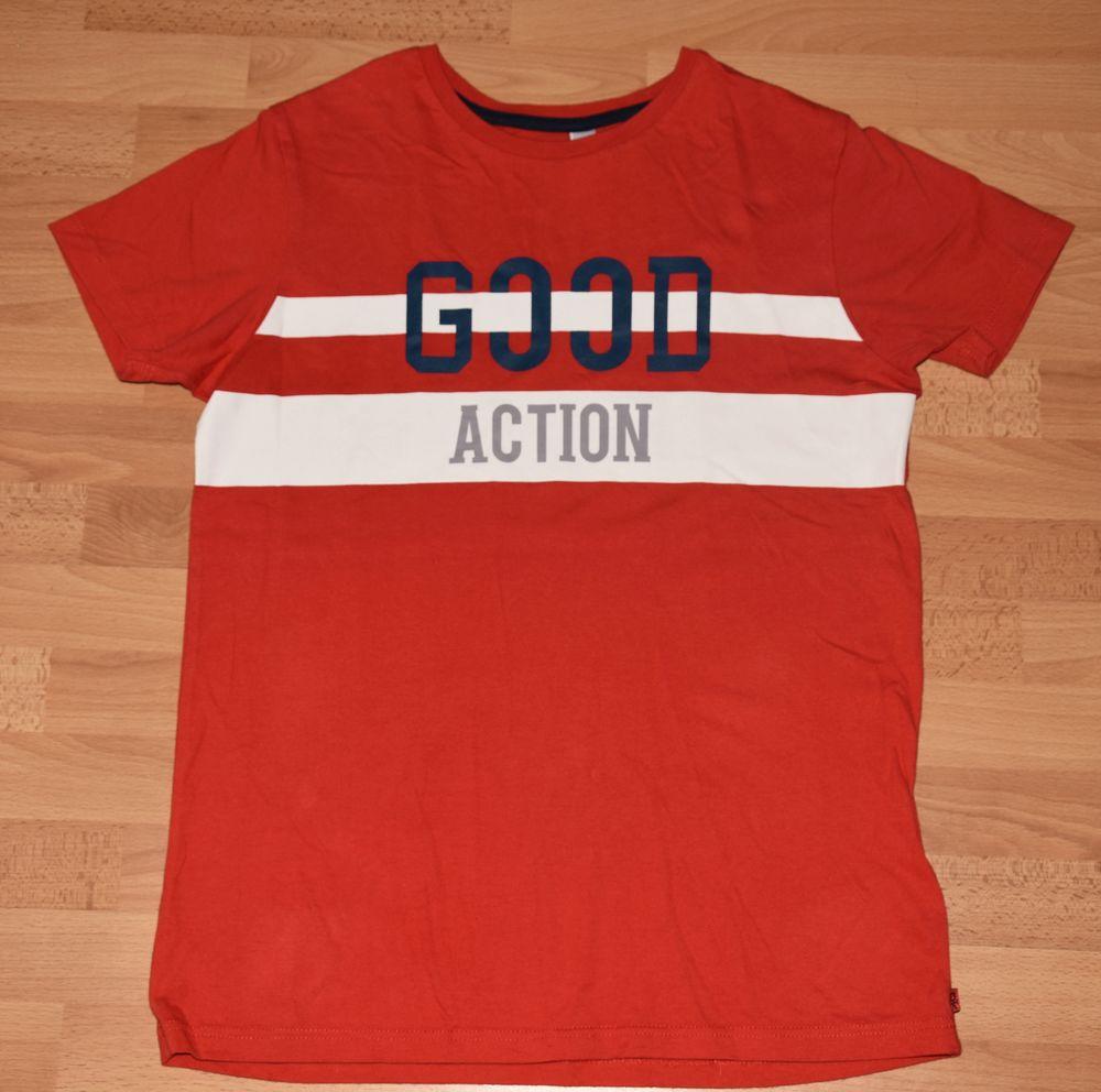 OKAIDI.  Tee-shirt rouge. 14 ans. Coton. Okaidi. Très bon ét 3 Gujan-Mestras (33)