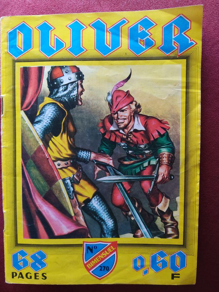 BD Oliver n°270 (1969 ) 2 Saint-Bonnet-les-Oules (42)