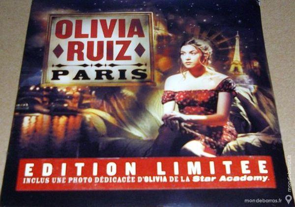 Olivia Ruiz - Paris - CD Single (NEUF) CD et vinyles