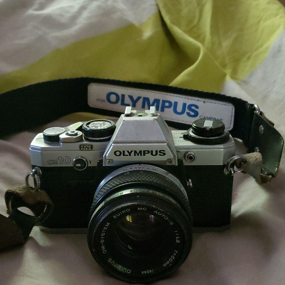 Olympus om 10 argentique