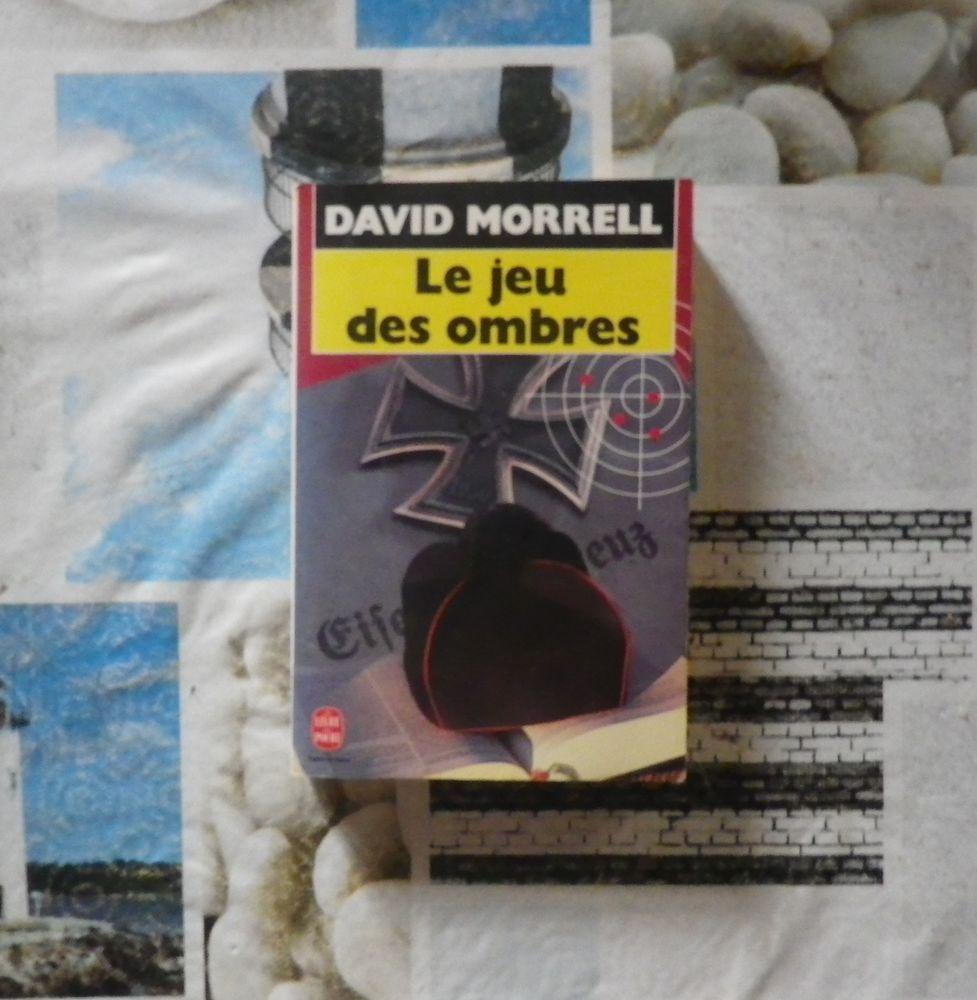 LE JEU DES OMBRES de David MORRELL Ed Le Livre de Poche 2 Bubry (56)