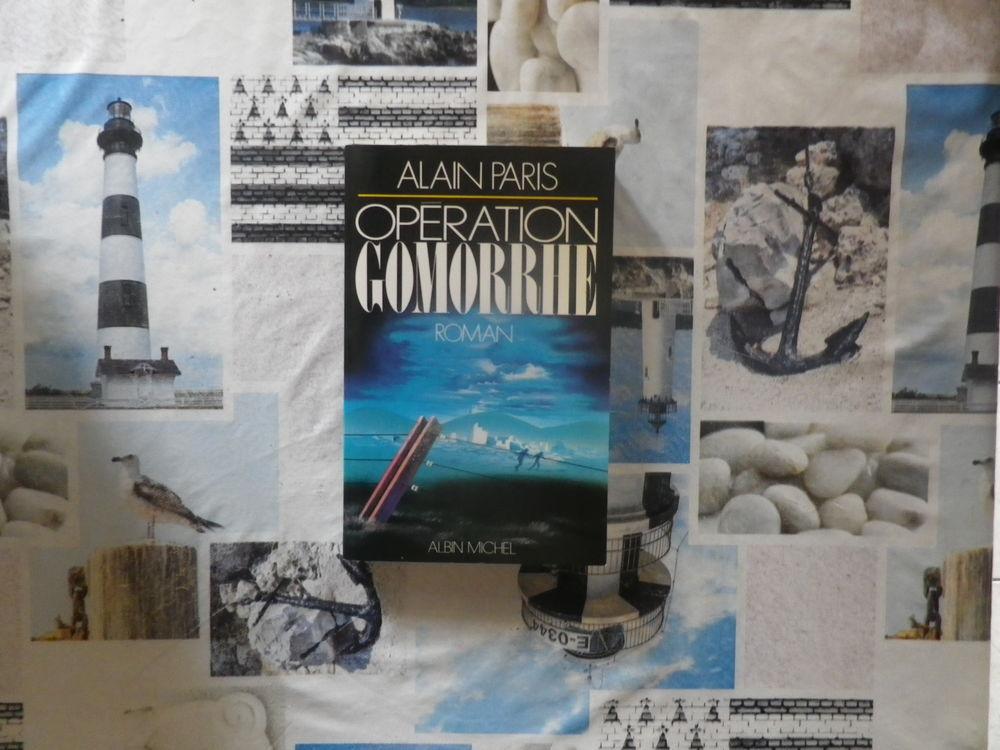 OPERATION GOMORRHE de Alain PARIS Ed. Albin Michel 2 Bubry (56)
