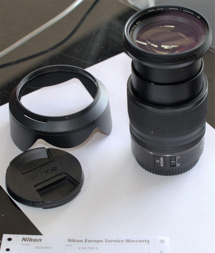 Optique Nikon Z 24/70 4S  650 Marly-le-Roi (78)