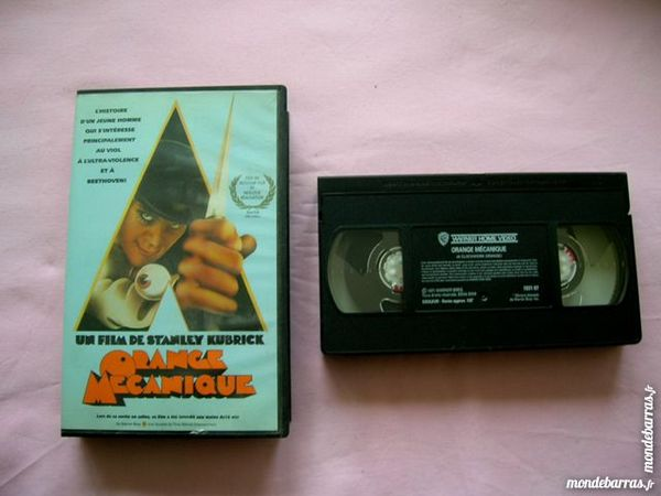 K7 VHS ORANGE MECANIQUE 3 Nantes (44)