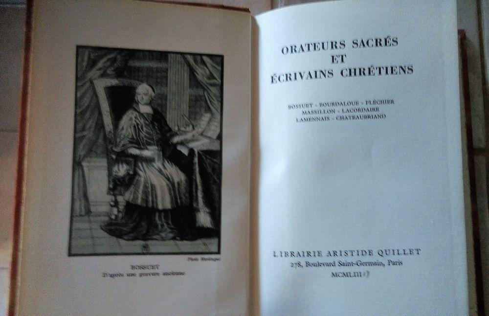 Orateurs Sacres et Ecrivains Chretiens Penciolelli 1953  3 Marseille 9 (13)