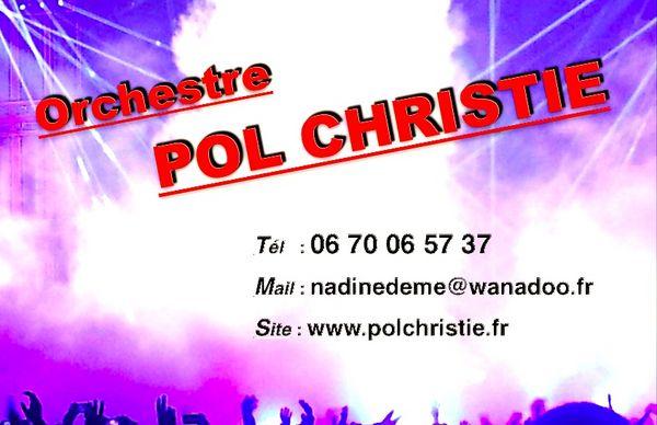 Orchestre POL CHRISTIE 0 Saint-Aubin-la-Plaine (85)
