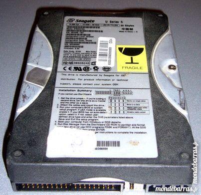 Ordi bureau disque dur seagate 20gb 18 Versailles (78)