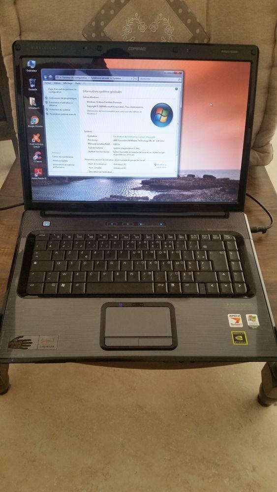 Ordinateur PC Portable HP Compaq Presario V6000 145 Contes (06)