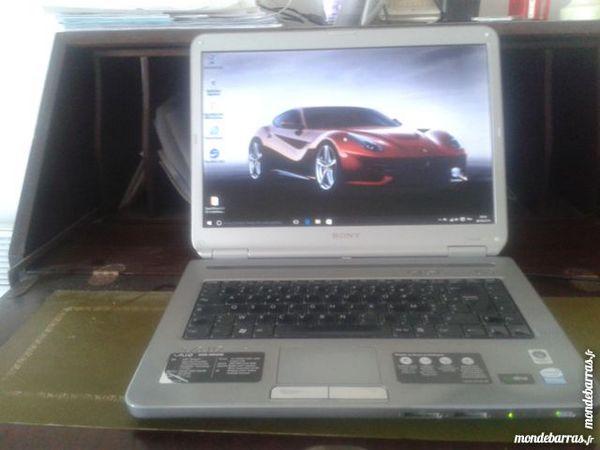 un ordinateur portable 250 Enghien-les-Bains (95)