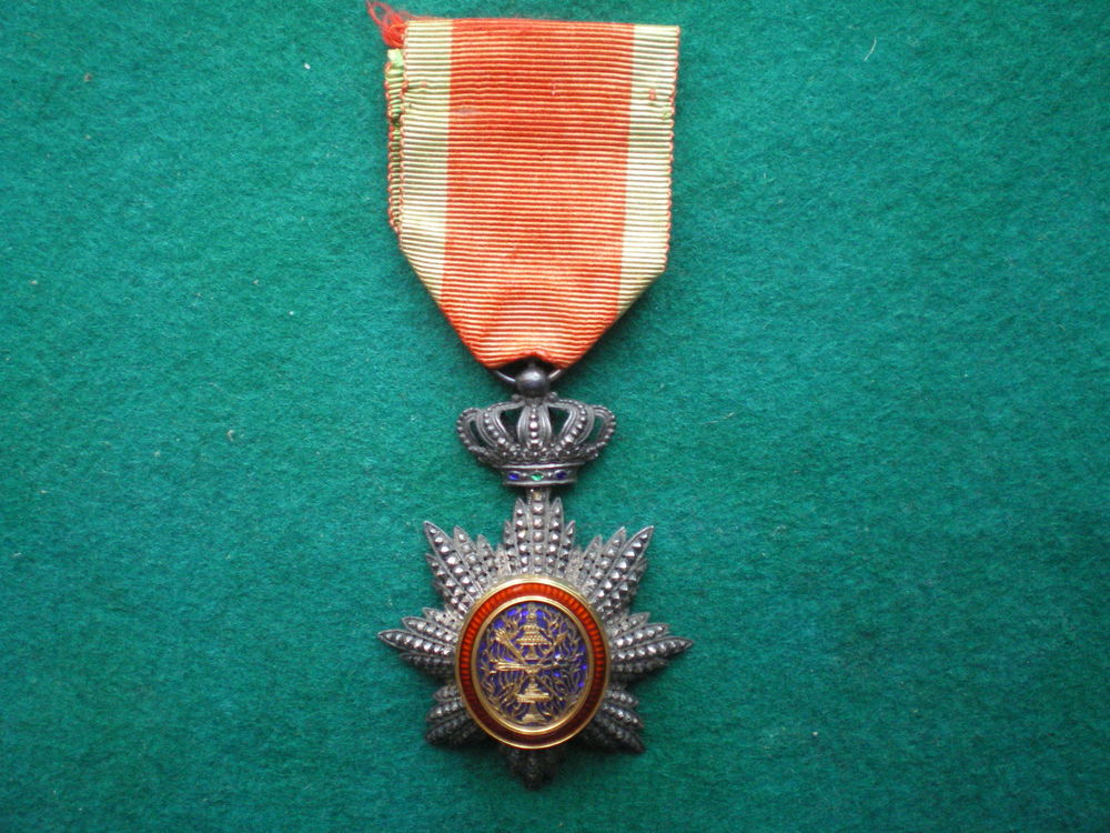 Ordre royal du Cambodge. Chevalier. 175 Caen (14)