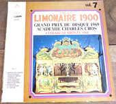 Organ Limonaire 1900 prix du disque 1969  disque 33 tours 3 Laval (53)