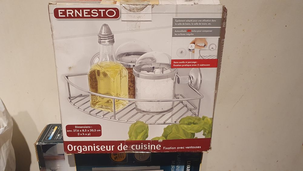 Organisateur de cuisine Ernesto 3 Saint-Ouen (93)