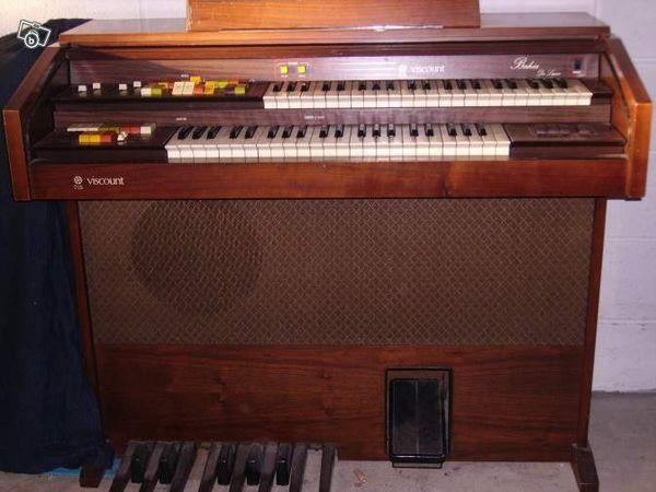 ORGUE D'appartement double clavier 80 Fleurines (60)