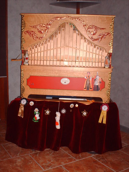 orgue de Barbarie 3 registres 8900 Cuincy (59)