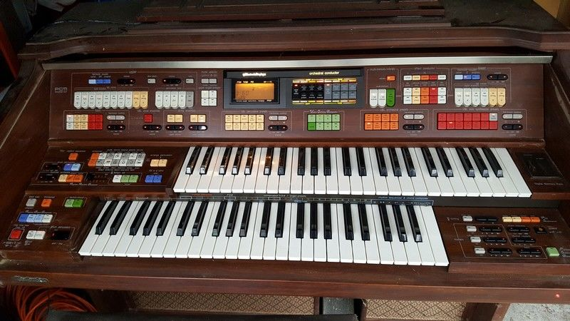 Orgue Technics SX-G7 - RARE - VINTAGE 1200 Cergy (95)