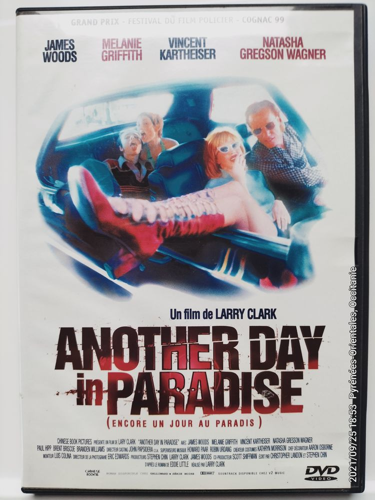 DVD Original  Another Day in Paradise  Mélanie Griffith 3 Canet-en-Roussillon (66)