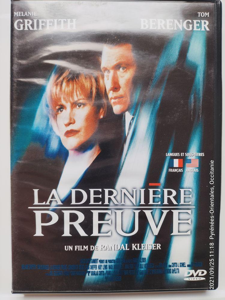 DVD Original  La Dernière Preuve  en TBE série Policier 3 Canet-en-Roussillon (66)