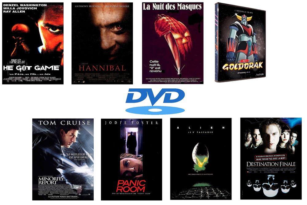 DVD originaux 1 Lagny-le-Sec (60)
