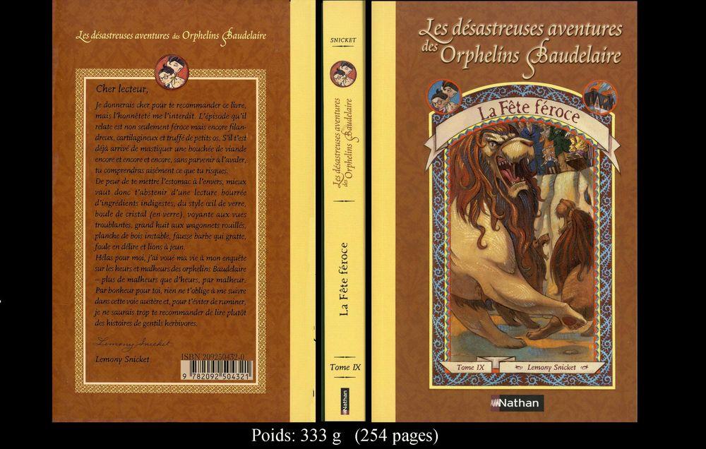 Les Orphelins de Baudelaire 12 Saint-Laurent-de-Mure (69)