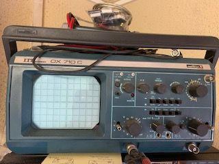 ITT OSCILLOSCOPE OX710C 2X 15 MHZ 70 Thuré (86)