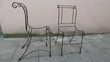 6 ossature chaises fer forgé Meubles