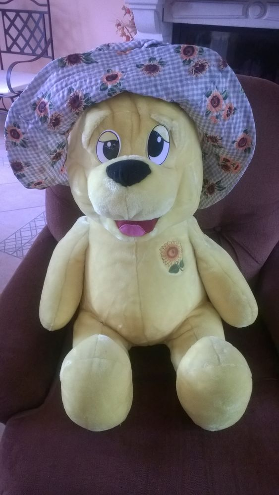 OURS PELUCHE JAUNE 3 Ormes (45)