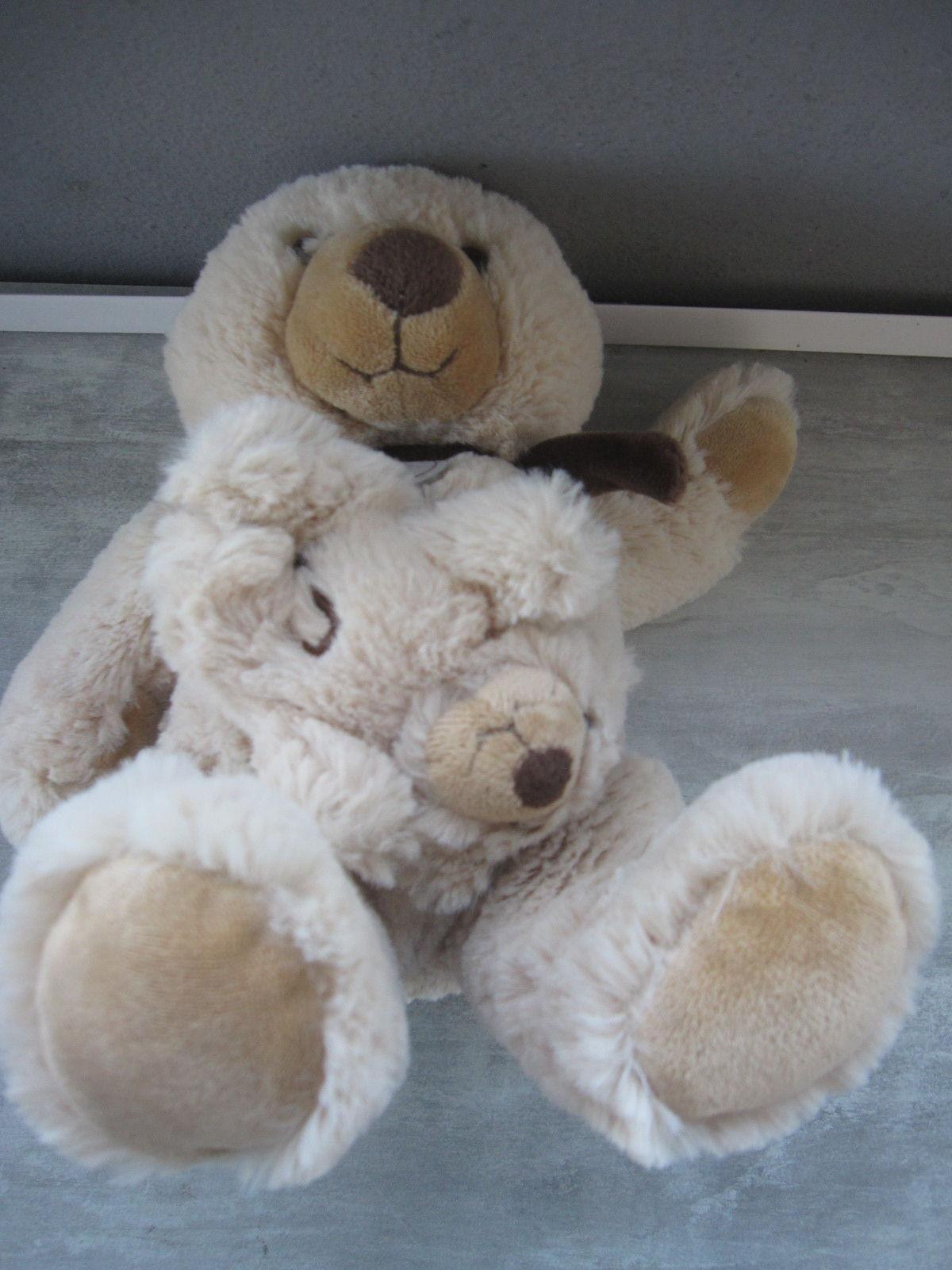 ourson babynat et son bébé boîte à musique 25cm 10 Saint-Jean-Pla-de-Corts (66)