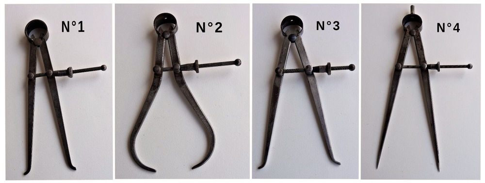 Outils de mesure  anciens 1 Chaumontel (95)