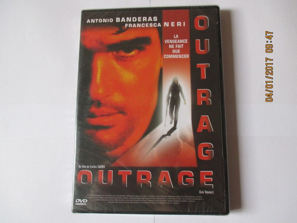 DVD OUTRAGE neuf sous blister 2 Saint-Quentin (02)