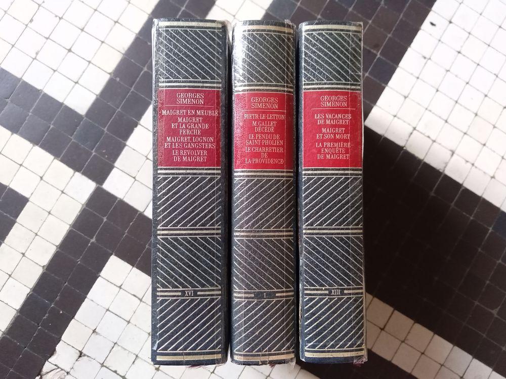 Ouvrages de la série  oeuvres complètes  de Simenon 5 Herblay (95)