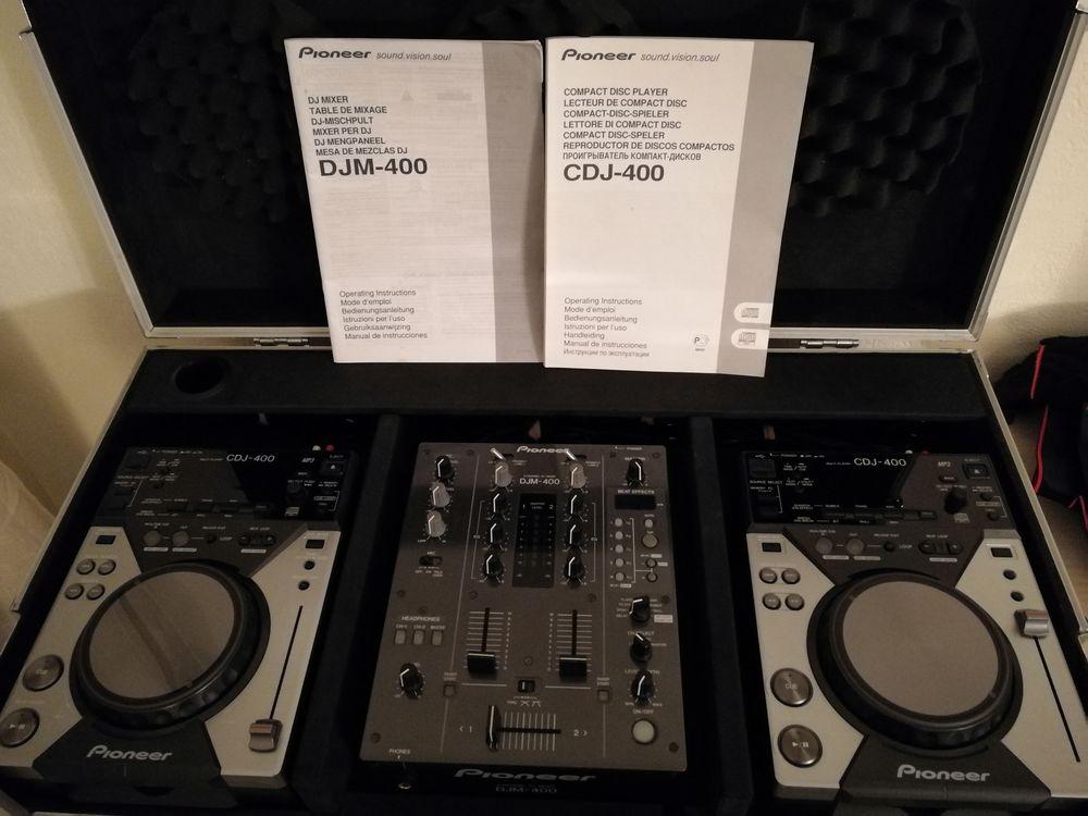 Pack 2xcdj400 & djm400 pioneer 0 Cannes (06)