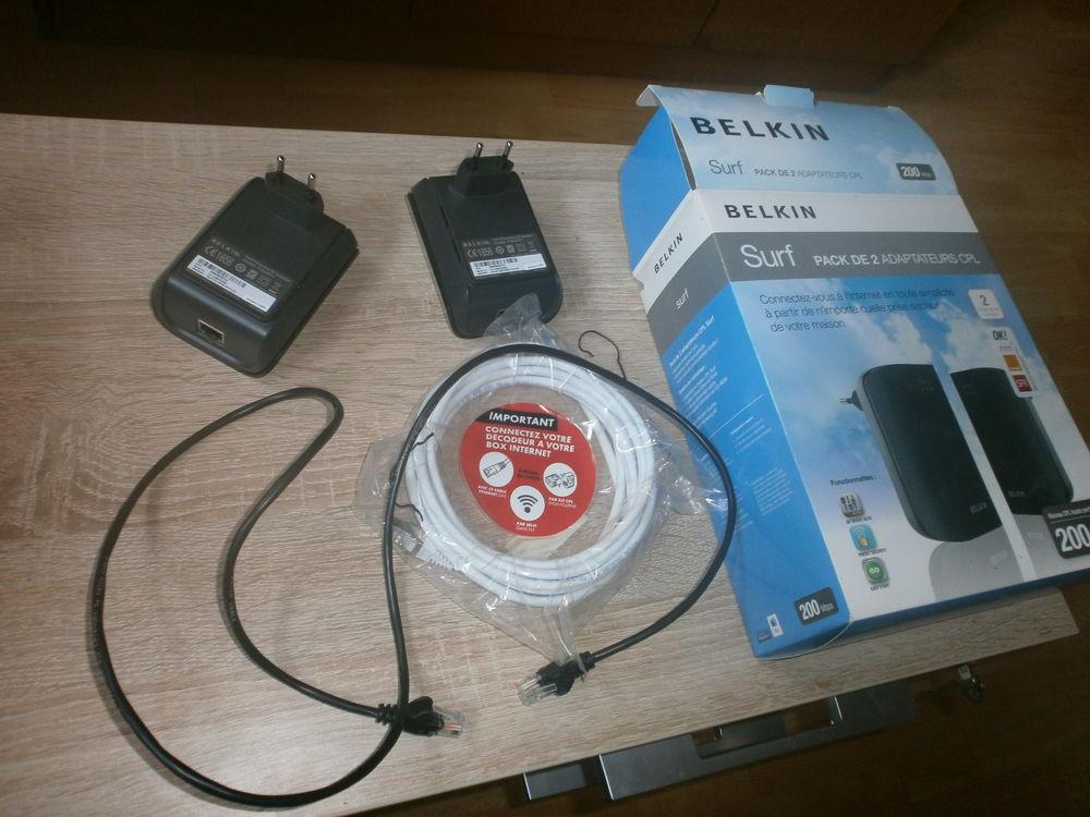 PACK DE 2 ADAPTATEURS cpl ordinateur a la télé sans fil 0 Tugéras-Saint-Maurice (17)