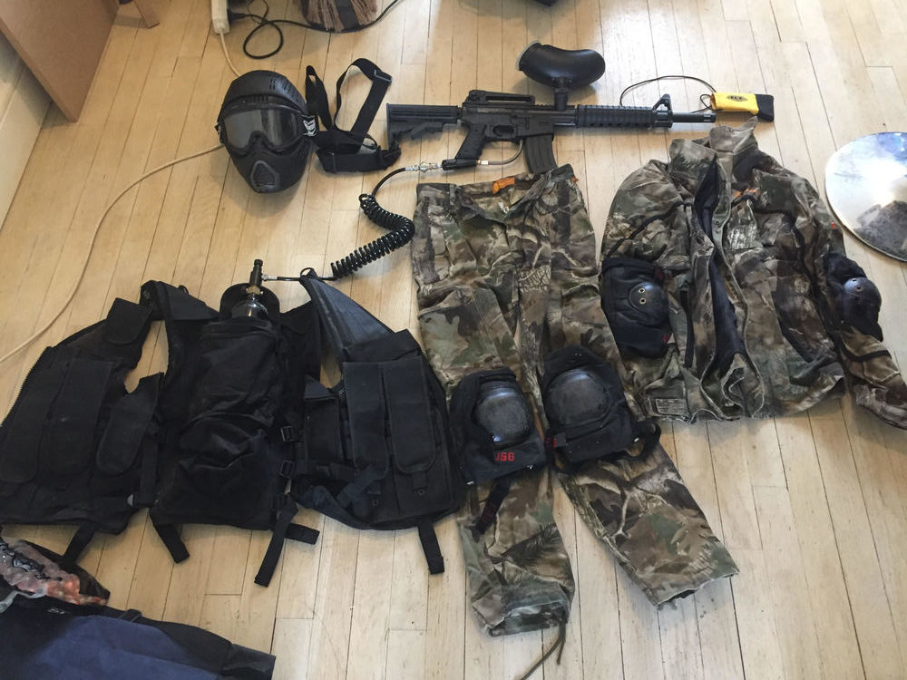 Pack complet paintball Sports