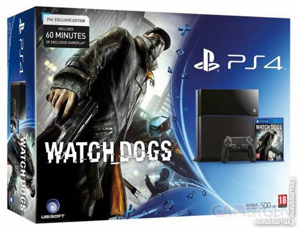 Pack Console PS4 Watch Dogs 300 Melesse (35)