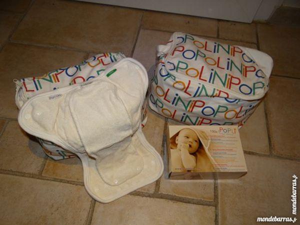 Pack couches lavables 3 à 15 kg Popolini 240 Fréjus (83)