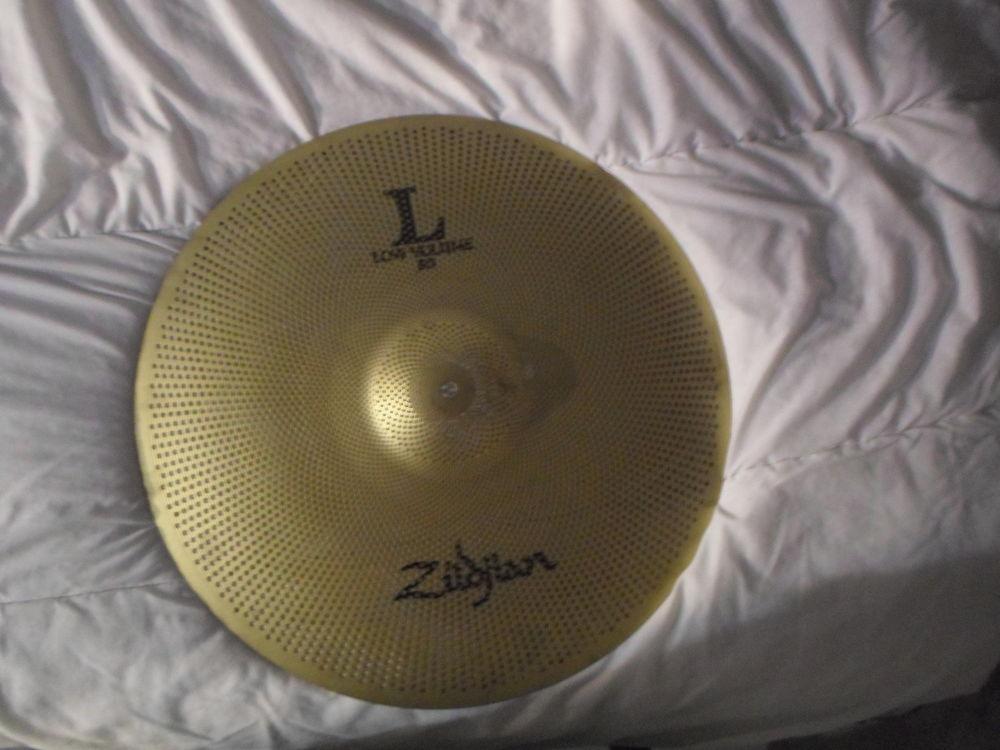 Pack 2 cymbales acoustiques silencieuses ZILDJIAN (L80) 80 Paris 19 (75)