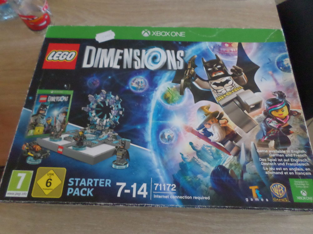 Pack de demarage lego dimensions+figurine xbox one 30 Halluin (59)
