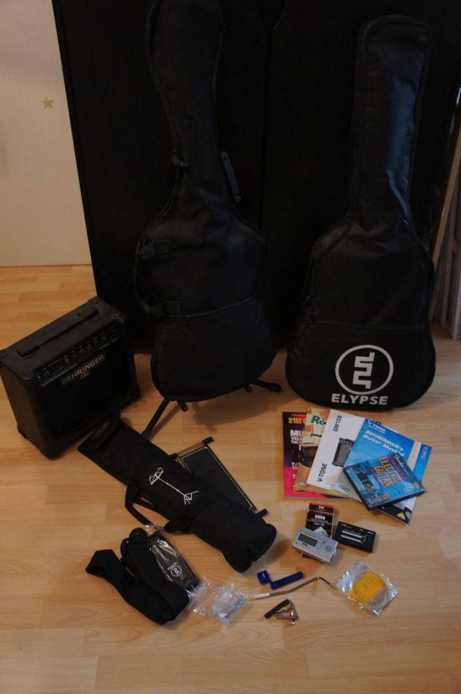 Pack Guitares débutant électrique/sèche 200 Clichy-sous-Bois (93)