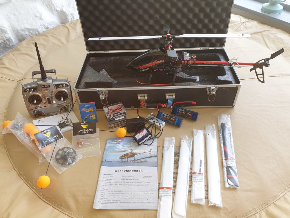 Pack helico rc walkera creata 400 3d 550 Touët-sur-Var (06)