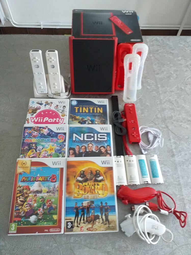 ?Le pack Wii mini avec jeux plus recharge manette.? 225 Killem (59)