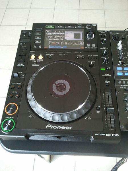 Pack Neuf : 2 PIONEER CDJ 2000 Nexus &  1 MONITOR Yamaha 2800 Alès (30)